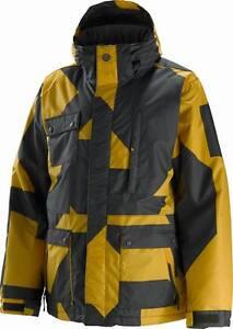 $234 NEW 1o,OOOmm SPECIAL BLEND MENS SKI SNOWBOARD GUNNER JACKET M UK 40