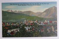 Lions Gate Bridge Crown Mountain Vancouver BC Canada Coast Pub Mint Postcard