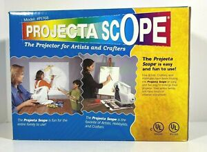 Apco Projecta Scope Magnifying Art Projector Drawing Hobby Crafts PJ768 Tested