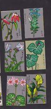 Série étiquettes allumette Japon BN38868 Dessin fleurs