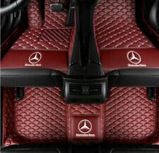 For Mercedes-Benz 2004-2020 Luxury Waterproof Front & Rear Liner Car Floor Mats