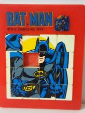 1978 Vintage American Publishing DC COMICS BATMAN slide tile puzzle