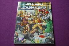 STAR WARS D6 RPG JDR Jeu de Role - Wretched Hives of Scum & Villainy