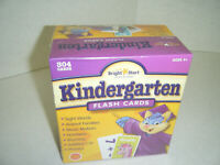 304 Kindergarten Flash Cards Bright Start Numbers Words Music Addition Animals