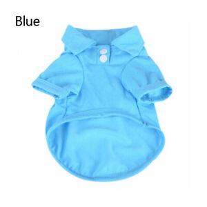 Pet Dog Cotton Short Sleeve Clothes Vest Puppy Apparel T-Shirt Summer Jacket New