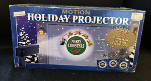 Vintage Mr. Christmas Holiday Projector With Motion & 24 Discs  2001 Unopened