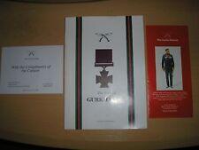 GURKHA MUSEUM - THE STORY OF GURKHA VCS 1993 LIMBU, GHALE & GURUNG SIGNED X 3