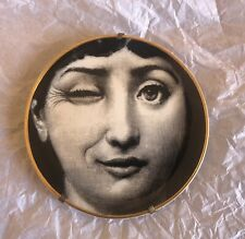 Fornasetti Rosenthal Plate Porcelain Vintage Design