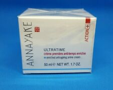 ANNAYAKE Ultratime Enriched Anti-Ageing Prime Cream 50ml/1.7oz NEW IN SEALED BOX
