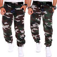 Herren Jogginghose Sporthose Fitness Sport Army Tarn Camou Camouflage Damen Hose