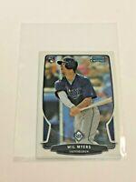 2013 Bowman Chrome Mini Baseball Rookie Card - Wil Myers - Tampa Bay Rays
