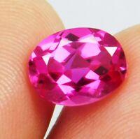 Natural 2.80 Ct Ceylon Pink Sapphires Oval Shape Loose Gemstone