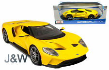 Maisto Ford Gt 2017 Yellow 1/18 31384YL