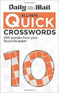 Daily Mail All New Quick Crosswords 10 (The Daily Mail Puzzle Books), New, Daily
