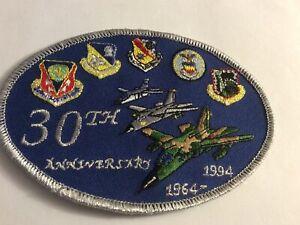 F-111  30th ANNIVERSARY 1964 - 1994 RAF LAKENHEATH  PATCH