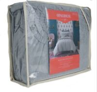 Opalhouse Ruched Jersey Duvet Cover Set Twin XL/Twin Gray