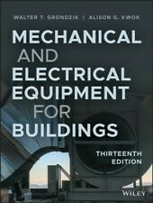Mechanical and Electrical Equipment for Buildings, Hardcover by Grondzik, Wal...