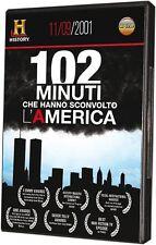 102 Minuti 11 Settembre 2001 History Channel DVD Terrorismo New York America