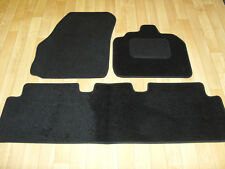 Renault Grand Scenic (2003-09) Fully Tailored Car Mats in Black