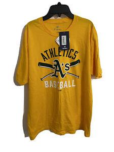Fanatics Oakland Athletics Baseball A's MLB T-Shirt - Adult Large New with Tags
