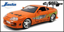Véhicules miniatures orange Jada Toys Fast & Furious