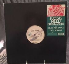 "GANGSTARR - ""SUCKAZ NEED BODYGUARDS""- 12"" SINGLE, CHRYSALIS RECORDS # Y-58265"