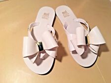8627532ad Mel Dreamed by Melissa White Jelly Bow Flip Flop Sandal SZ 13