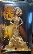 Mattel Barbie Doll Marilyn Monroe 50th Anniversary Gold Dress Collector Edition
