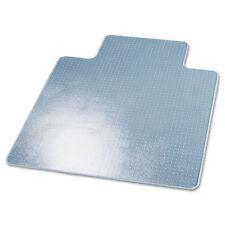deflecto Supermat Frequent Use Chair Mat Medium Pile Carpet Beveled 45x53