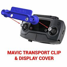 DJI MAVIC PRO - Screen Cover & Transport Clip Controller BLUE USA seller
