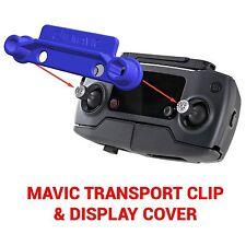 DJI MAVIC PRO - Screen Cover & Transport Clip Controller BLUE USA seller