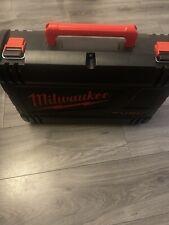 "Milwaukee M18ONEFHIWF12-502X 1/2 Drive Impact Gun 1/2""Empty Hard Case Tool Box"