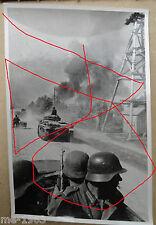 original  Foto 3 Stück Russland Riesenflugzeug + Vormarsch   mot