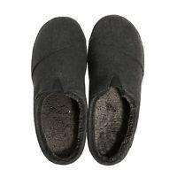 Mens Toms Berkeley Woolen Slippers In Black