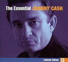 The Essential Johnny Cash [Limited Edition 3.0] [Digipak] by Johnny Cash (CD, Aug-2008, 3 Discs, Legacy)