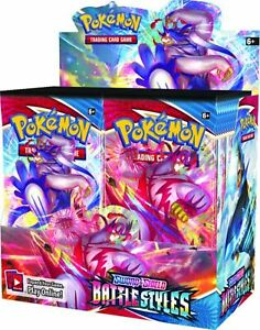 Pokemon TCG SwSh Battle Styles Factory Sealed Booster Box PRE-ORDER 3/19 Yeti