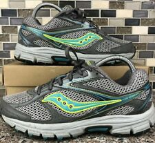 Saucony XT 600 Grid Cohesion Running Shoes Size 8.5 Women's Gray Green S15235-20