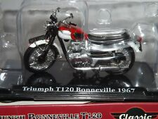 CLASSIC MOTORBIKES 1/24 TRIUMPH BONNEVILLE T120 1967
