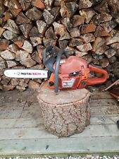 Husqvarna 357xp chainsaw, big bore. This is a excellent saw. Big power.