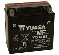 YTX14-bs YUASA BATTERIA SIGILLATA 12V 12,6AH PiaggioMP3 MIC 250 2008 2009