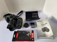 Pentax iSt Dl 6.1 Megapixel Dslr - 2 Lenses - Filters - Case - Complete *ist Dl