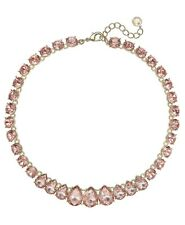 """Charter Club Crystal Collar Necklace, 16"""" + 2"""" extender"""