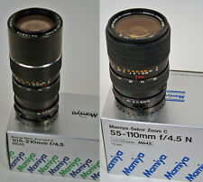 Mamiya zoom-objetiva 4,5/55-110mm y 4,5/105-210mm para Mamiya 645 MF-Top -