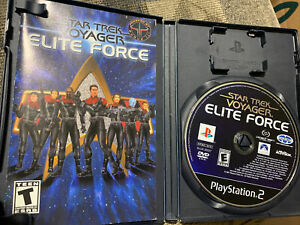 Star Trek: Voyager Elite Force PS2 Complete (Sony PlayStation 2, 2001)