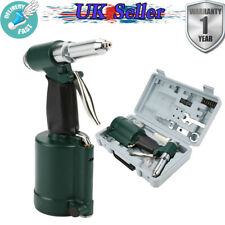 "1/4"" Air Hydraulic Pneumatic Pop Riveter Rivet Gun Power Quick Release 900kgf"