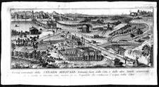 Strada militare romana - Rollin - Acquaforte 1750