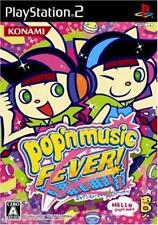 Used PS2 Pop'N Music 14 Fever ! KONAMI  SONY PLAYSTATION JAPAN IMPORT