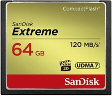 SanDisk 64 GB Extreme Compact Flash Memory Card