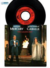 "FREDDIE MERCURY & MONTSERRAT CABALLÉ THE GOLDEN BOY - 7"" INCH VINYL SINGLE QUEEN"
