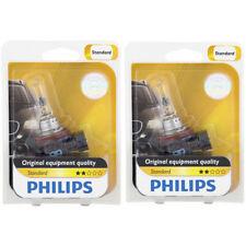 Two Philips Standard Halogen Light Bulb H9B1 for 12361 H9 12V 65W 12361B1 pj